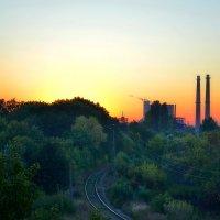 Промышленный пейзаж тоже может быть красивым :: Валентина Данилова