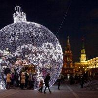 Москва Новогодняя :: Елена Жукова