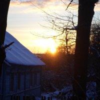 Солнечный рассвет в декабре :: BoxerMak Mak
