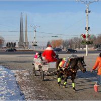 Прогулки с Дедом Морозом! :: Роланд Дубровский