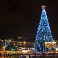 рождество в Хайфе :: Павел Коротун