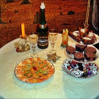 Новогодний десерт :: Нина Корешкова