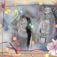Такая разная невеста... :: Zarema Cherkasova