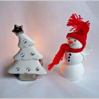 Снеговички тоже бывают ангелами..... :: Валерия Комова