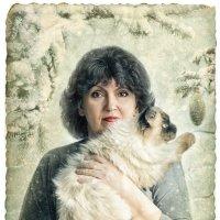 Новогодняя открытка :: Lyuba-Viktoria Халявина.