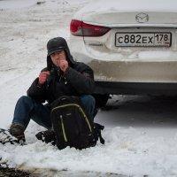 Машину поставил, Новый год встретил..... :: Leonid Volodko