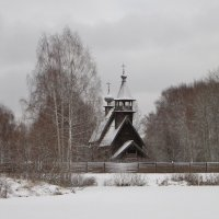 Ночью был снег. :: Святец Вячеслав