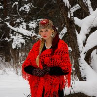 Зима в лесу :: М. Дерксен Derksen