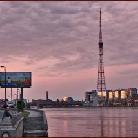 Питер, утро, рыбалка :: Дмитрий Анцыферов