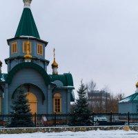 Храм завода Тяжмаш в г.Сызрань :: Андрей Лобанов