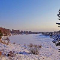 зимнее озеро :: Сергей Швечков