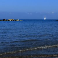 Белеет парус одинокой В тумане моря голубом!.. :: Hatasha Asha