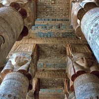 Храм богини Хатхор :: Евгений Печенин