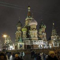 Москва Новогодняя... :: Ирина Шарапова