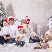 Семья Санта Клаусов!!! :: Анна Дрючкова