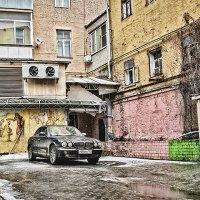 Эклектика Московских дворов :: Елена Волкова