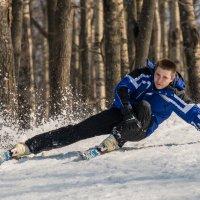лыжник :: андрей семёнов