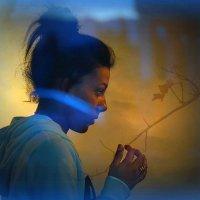 Голубые блики отражения :: Karlina *** (Елена К)