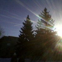 Зимний закат :: Миша Любчик