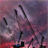 Индустрия на закате... :: Shmual Hava Retro