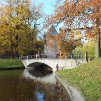 Золотая осень в Павловске :: Николай
