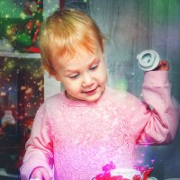 Новогоднее волшебство :: Ангелина Косова