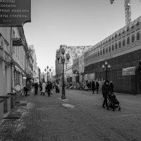 Прогулка по Арбату. :: Яков Реймер
