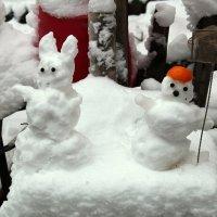 снеговички :: Елена Константиниди