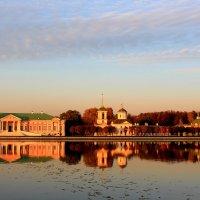 Усадьба Кусково на закате осеннего дня :: Александра