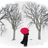 Яркое пятно среди зимы :: Лидия (naum.lidiya)