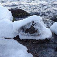 Камни во льдах. :: Андрeй Владимир-Молодой