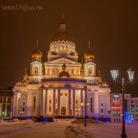 Кафедральный собор святого праведного воина Феодора Ушакова в Саранске. :: Андрей Ванин