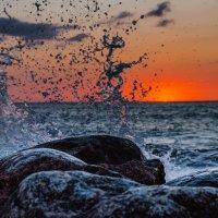 Балтийское море. Закат. :: Артем Бондарович