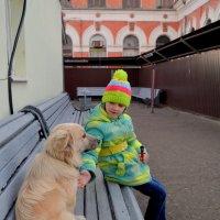 А ты,дружище,какой поезд ждешь? :: Лариса Красноперова