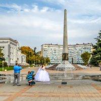 Площадь Октябрьской революции. Туапсе. Другой ракурс. :: Elena Izotova