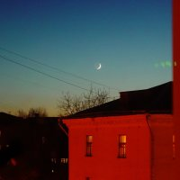 Вечер с луной :: Сергей Трусов