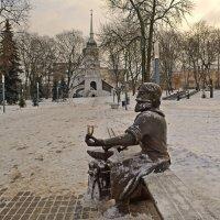 Памятник скобарю :: Наталья Левина