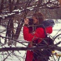 Подруга фотограф :: Polina Rastaturova