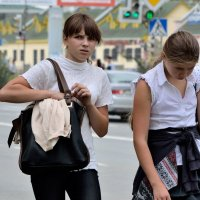 Тяжелая школьная жизнь :: Николай Филиппов