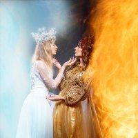 Лед и пламя :: Наталья Мироненко