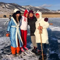 "Байкал. Первое января 2015г. :: База отдыха ""Уюга"" Байкал. Малое Море"