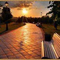 Раннее утро в городе :: Лидия (naum.lidiya)