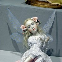 На выставке кукол в ЦДХ, Москва. :: Елена