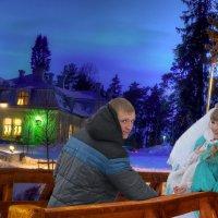 Вечерком .... :: Сергей Феоктистов