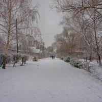 Обычный зимний день... :: марк