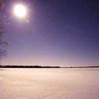 Рождественская ночь в финляндии. :: Валерий Стогов