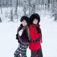 Подружки. :: Александр Лейкум