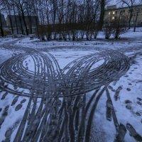 следы :: Сергей Глотов
