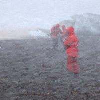 Изменчивая погода Антарктиды :: Геннадий Мельников