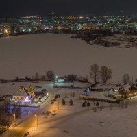 На берегу замерзшей реки :: Сергей Канашин